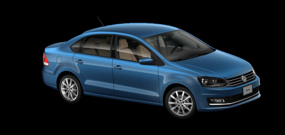 VW VENTO 2018 AZUL SEDA